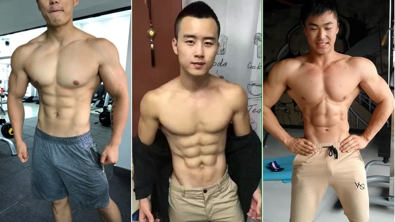 When hunk muscle Asians take off their clothes2