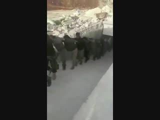 Боевики ССА Тахрир АльШаркия в плену у других боевиков ССА Султан Мурад и Хамза.