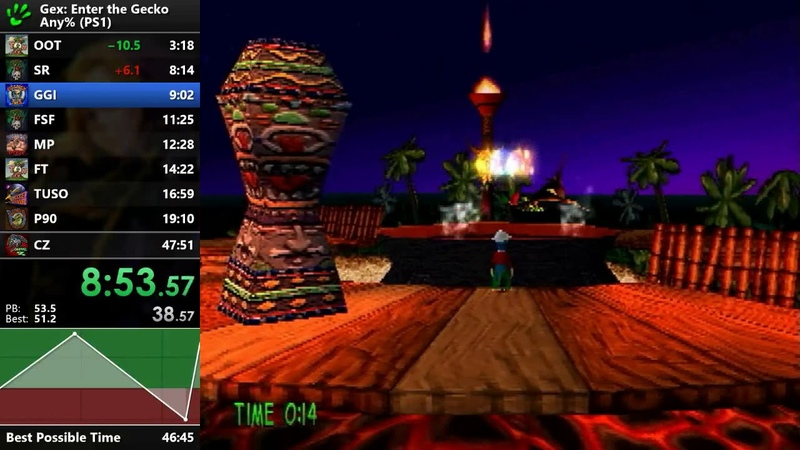 Gex: Enter the Gecko - Any% Speedrun - 47:29 [WR]