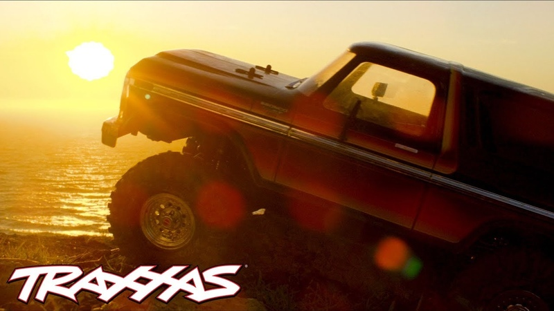 Ford Bronco at the Beach | Traxxas TRX-4