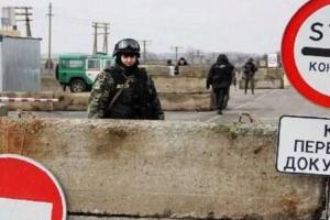 На праздники график работы КПВВ на Донбассе останется прежним