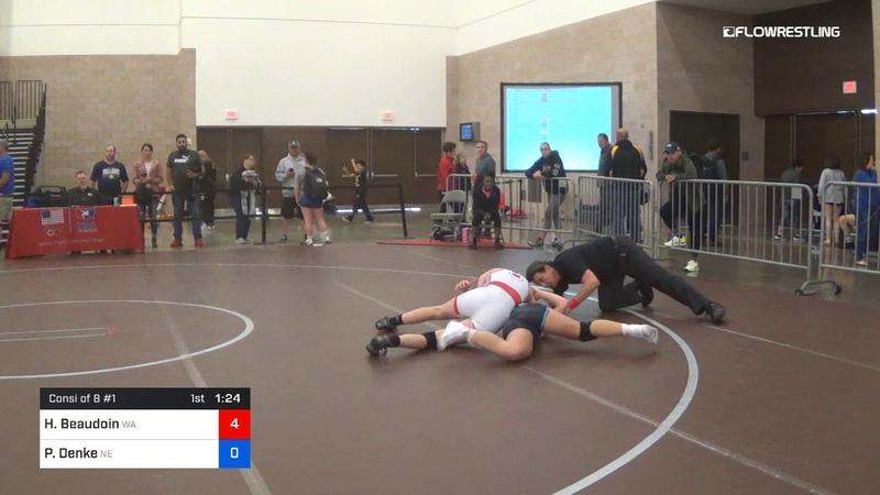 53 Kg Consi Of 8 1 Holly Beaudoin Team Washington Vs Paige Denke Team Nebraska