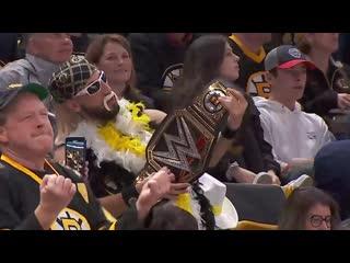 Bruins fans jam out to Bon Jovi