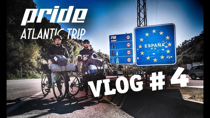Из Милана в Лиссабон на велосипеде VLOG4