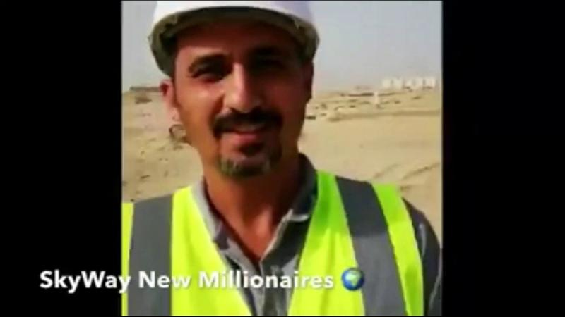 SkyWay стройка в Дубай от первого лица \ Giám đốc truyền thông đi thăm công trường skyway ở DUABAI