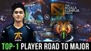 TOP 1 Player Road to Major Gameplay Compilation Dota 2