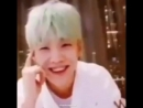 This is Yoongi's iconic laugh right here