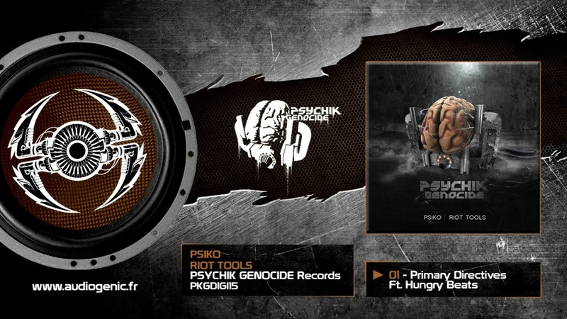 Psiko 01 Primary Directives Ft Hungry Beats Riot Tools EP PKGDIGI15