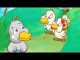 THE UGLY DUCKLING - Animated Cartoon Storie In English. Fairy Tales For Kids.