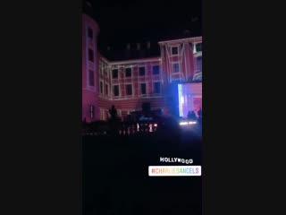 The CharliesAngels set at Moritzburg Castle