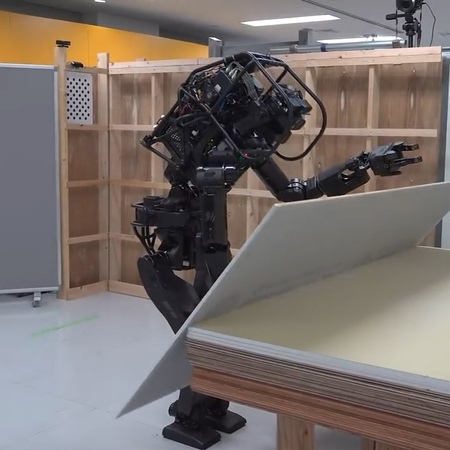 """Engineering World 🌐 on Instagram: """"Humanoid Construction Robot by AIST. AIST's newly developed humanoid construction robot HRP-5P succeeded in cons..."""