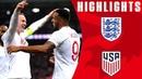 England 3 0 USA Callum Wilson Bags International Debut Goal Official Highlights