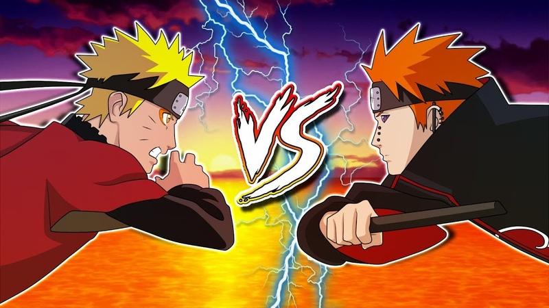 [AMV] Naruto VS Pain | DaMirOla