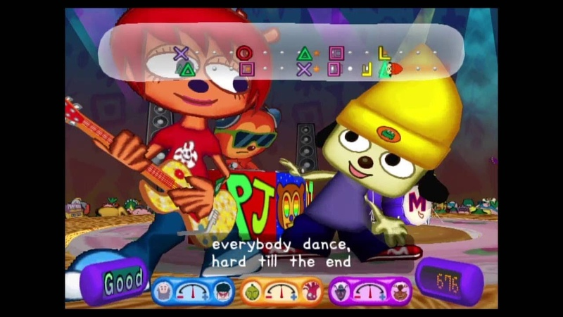 Parappa The Rapper 2 Stage 8 Cool Mode
