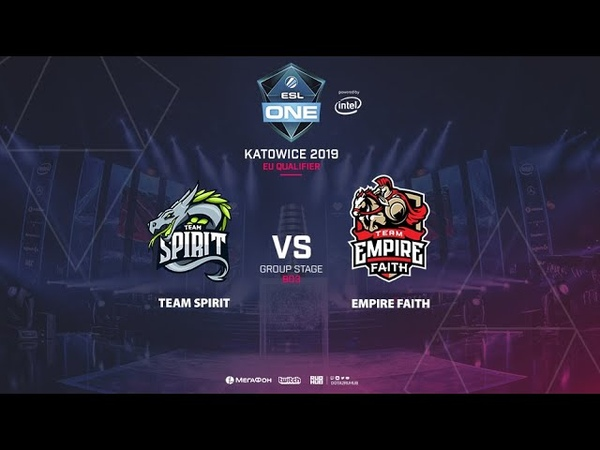 Team Spirit vs Empire Faith ESL One Katowice EU Qualifier bo3 game 2 Mortalles