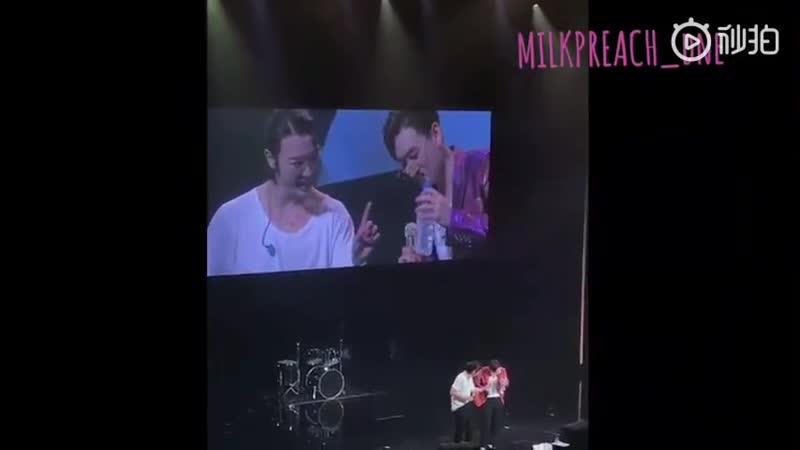 181021 DE STYLE TOUR 2018 HIROSHIMA donghae eunhyuk styletour - - Both of them asked fans