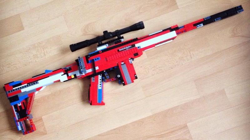 LEGO Sniper Rifle (Working)