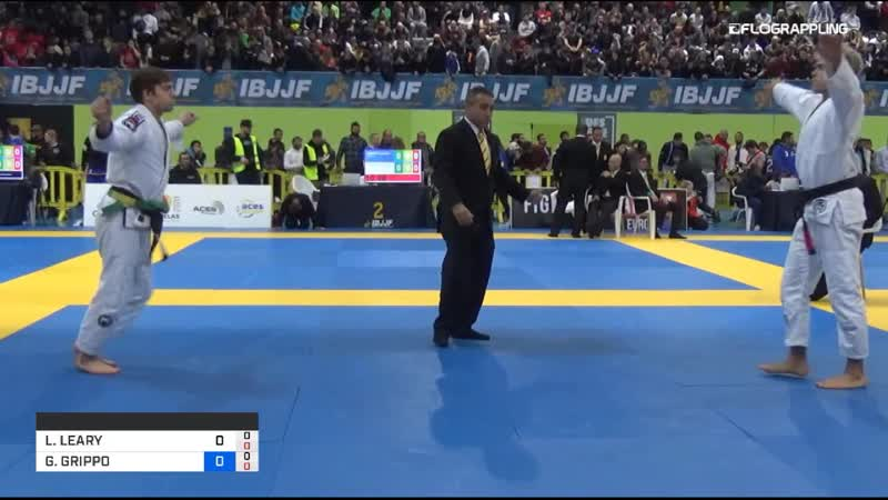 LEVI JONES-LEARY vs GIANNI GRIPPO ibjjfeuro19