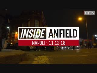 Inside anfield | liverpool 1-0 napoli | hd