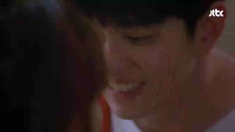 달달 엔딩 김유정 Kim You-jung ♥윤균상 Yun Kyun Sang , 연애세포 자극하는 ′테이블 키스′ 일단 뜨겁게 청소하라 13회