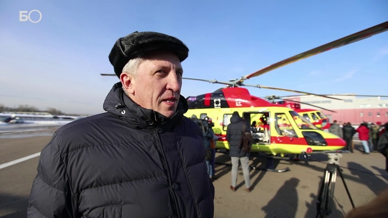 «Ростех» передал санитарной авиации четыре «Ансата» и четыре Ми-8АМТ