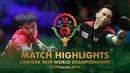 Fan Zhendong vs Joao Monteiro 2019 World Championships Highlights R64