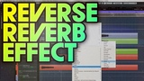 How to create reverse reverb vocal effects on screamed vocals in metal songs