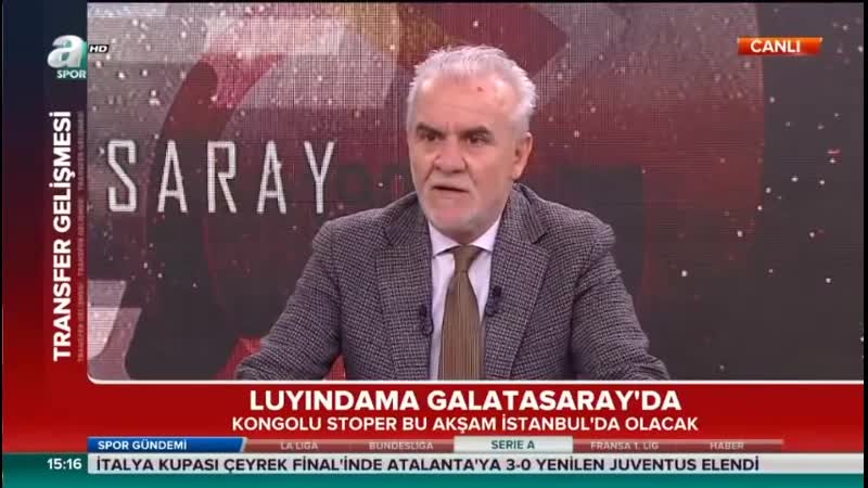 Luyindama Galatasarayda - Turgay Demir Diagne Yorumları - Galatasaray Transfer