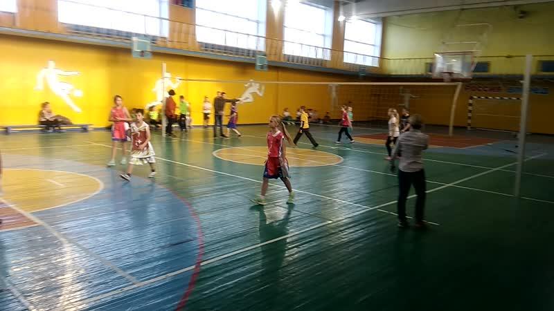 Муниципальный турнир по пионерболу среди 2-4 классов МОУ АГО