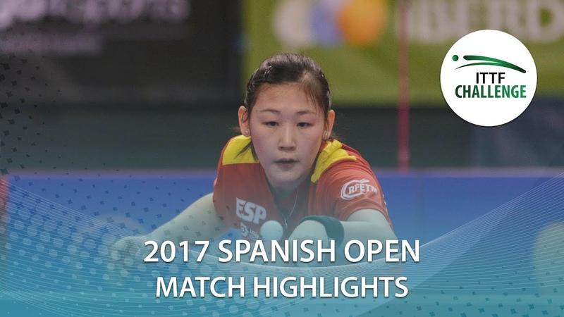 2017 Spanish Open Highlights Hina Hayata vs Maria Xiao (R16)
