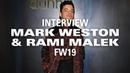 Rami Malek Felt More Like Freddie Mercury Than Mr. Robot at Dunhill's PFW Show