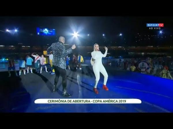 Abertura Copa América Brasil 2019™ - Leo Santana, Karol G - Vibra Continente [HD]