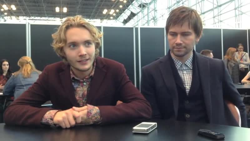 Toby Regbo and Torrance Coombs on Playing Francis and Bash on the CWs New Show REIGN 2013