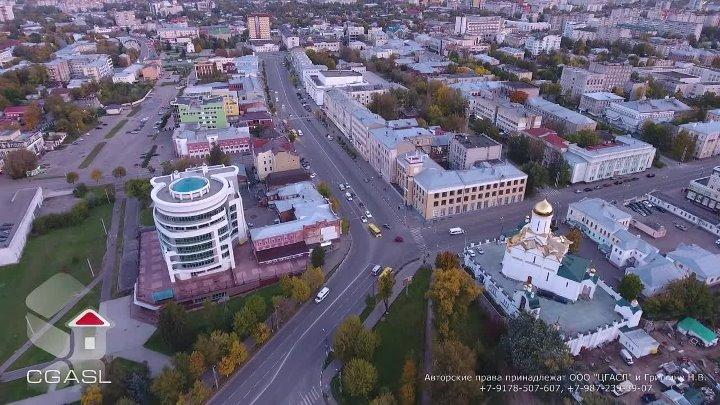 г. Иваново с высоты птичьего полёта 2016г. (панорама, сумерки)