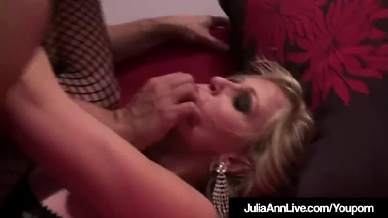horny hot milf julia ann fucks sucks cock in hot
