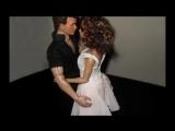 Dirty Dancing 16 scale custom figures Patrick Swayze &amp Jennifer Grey
