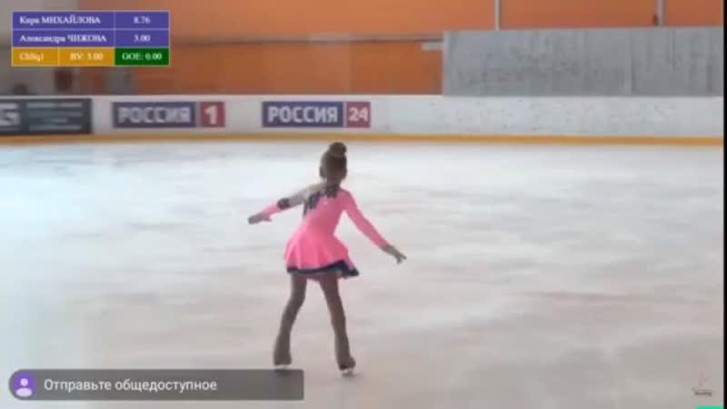 Первенство города Новочебоксарска по фигурному катанию