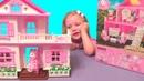 КУКОЛЬНЫЙ ДОМИК Anbeiya Family Распаковка и обзор дома для кукол. Dollhouse.Видео для детей.For kids