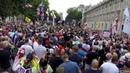 Pro Trump Rally MASSIVE UK Crowd Raheem Kassam London 14th July 2018