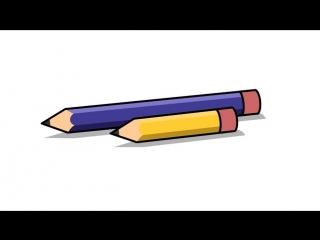 Как научиться держать карандаш. Шаг 1: начните с коротких карандашей