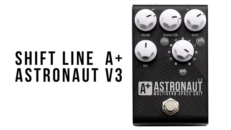 A by Shift Line Astronaut III multiverb space unit