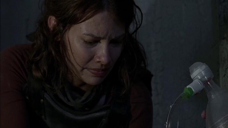 Хёршел и Мэгги спасают Гленна