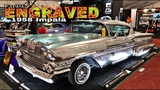 FULLY ENGRAVED 1958 Impala Lowrider! (watch in HD)
