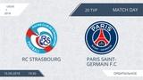 RC Strasbourg 6:2 Paris Saint-Germain F.C, 20 тур (Фр)