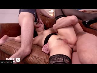 Valentina Nappi [ Double penetration /, In troy, Cumshot pubis, Curly, Heels, Ass, ]