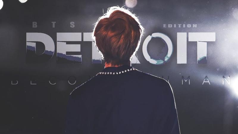 BTS ⤬ Detroit: become human || au!edit