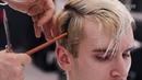 Современная мужская стрижка ножницами. Мастер класс от Сергея Рудницкого