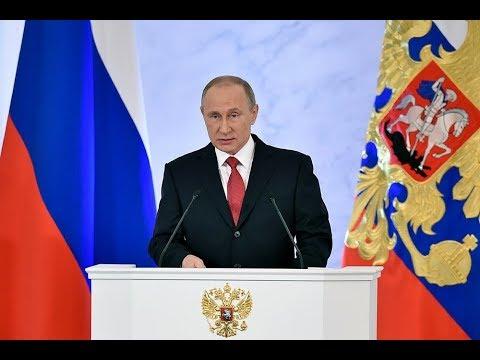 Messaggio annuale del Presidente della Federazione Russa all'Assemblea federale 2019