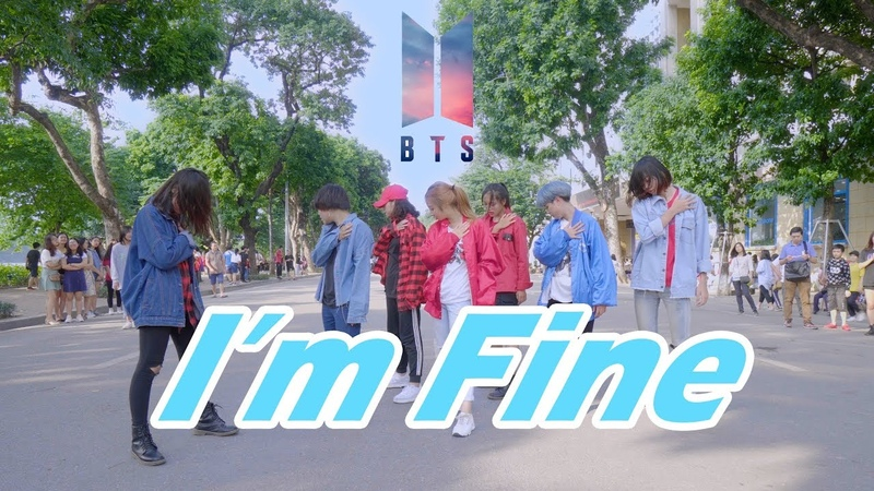 KPOP IN PUBLIC I'M FINE BTS 방탄소년단 Dance Cover By The D I P From VIETNAM