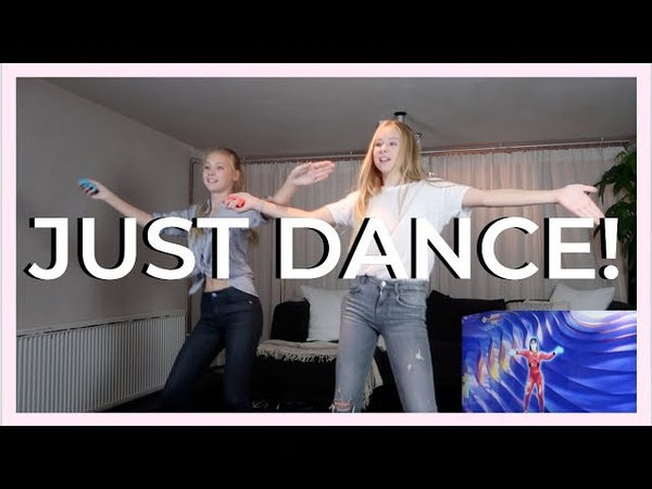 JUST DANCE WITH A SURPRISE GUEST! - izaandelle